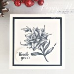 Handmade Thank You Card Using the Flowering Blooms Stamp Set by Stampin