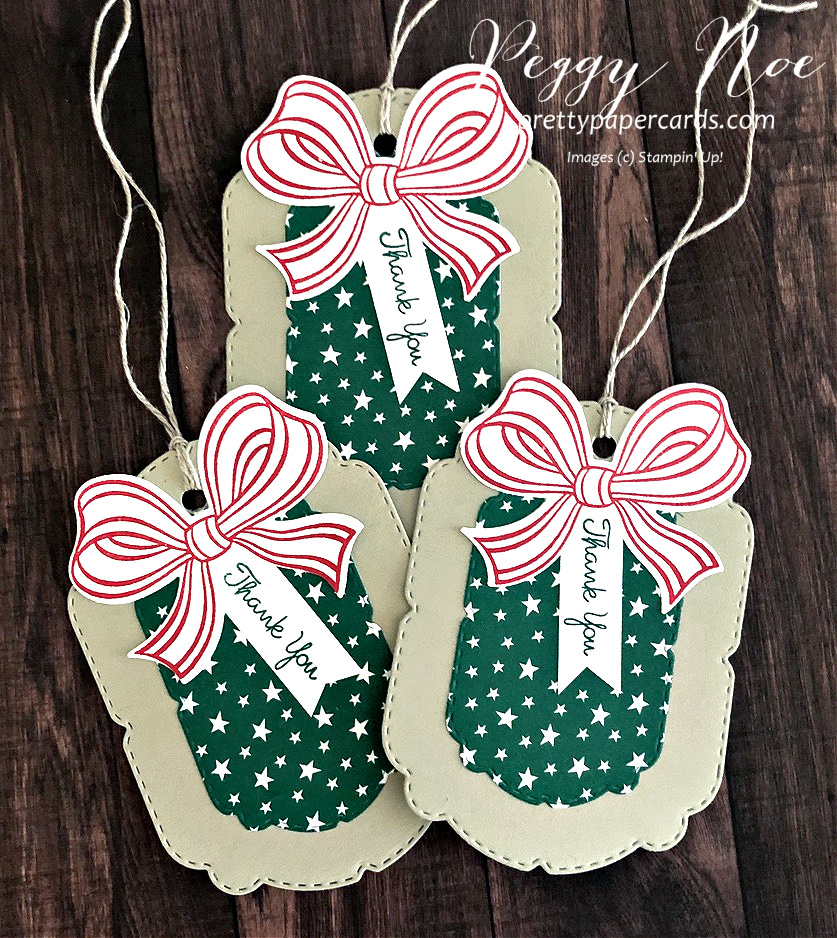 Darling Gift Wrapped Tag!