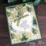 Handmade 3D Step Card using the Forever Greenery Suite by Stampin