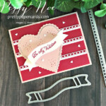 Handmade Valentine card made with Stampin