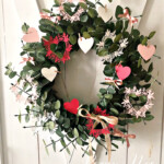 Handmade Wreath Using the Always in my Heart Bundle by Stampin