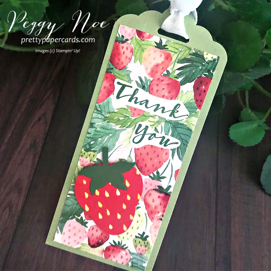 Berry Delightful Sweet Strawberry Tags!
