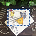 Handmade card featuring the Hey Chick Bundle by Stampin