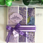 Handmade Triple-Fold Card Using Hydrangea Hill Suite by Stampin