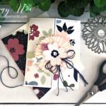 Handmade triple gatefold card created with Stampin