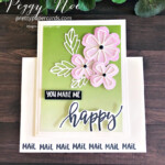 Handmade Card using the Pretty Perennials Bundle by Stampin