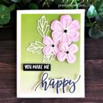 Handmade Pretty Perennials Happy Card created with the Pretty Perennial Bundle by Stampin