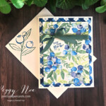 Handmade card made with Stampin