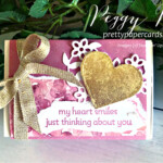 Gold Gilded Love You Always Treat Box made with Stampin
