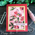 Handmade card created with the Fine Art Floral Suite by Stampin