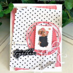 Handmade card using the Heal Your Heart stamp set and the Playful Pets paper from Stampin