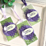Handmade gift tag made with the Hey Chick Bundle by Stampin