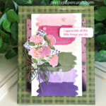 Handmade Hydrangea Haven Thank You Card using Stampin