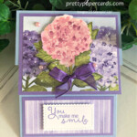 Handmade card using the Hydrangea Hill Bundle by Stampin