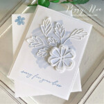Handmade sympathy card made with the Pretty Perennial Samp Set by Stampin
