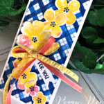 Handmade All Occasion card made with the Pretty Perennials Bundle by Stampin
