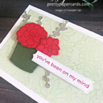 Handmade notecard using the Simply Succulents Bundle Stampin