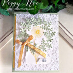 """Handmade """"Hello"""" card using the Garden Wishes Stamp Set by Stampin"""