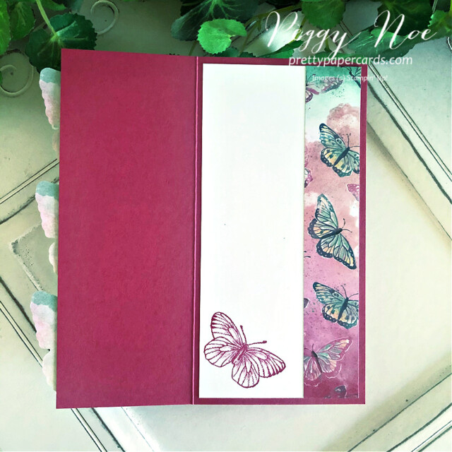 Handmade All Occasion Card using the Butterfly Brilliance Collection by Stampin' Up! and designed Peggy Noe of Pretty Paper Cards #butterflybrilliance #butterflies #butterflybijou #peggynoe #prettyppapercards #prettypapercards.com