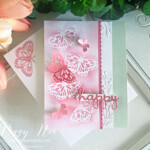 Handmade Happy Card using the Butterfly Brilliance Bundle by Stampin