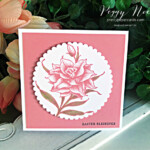 Handmade Easter Card using the Flowering Blooms Stamp Set by Stampin