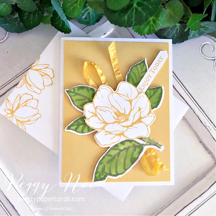 NEW VIDEO: Beautiful Magnolia Card!