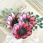 Handmade Thank You card using the True Love Paper by Stampin
