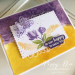 Handmade friend card using the Beautiful Friendship stamp set by Stampin
