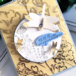 Handmade card using the Dragonfly Garden Bundle by Stampin