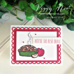 Handmade Apple Pie Card created with Stampin