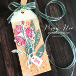 Handmade Bookmark Using the Color & Contour Bundle by Stampin