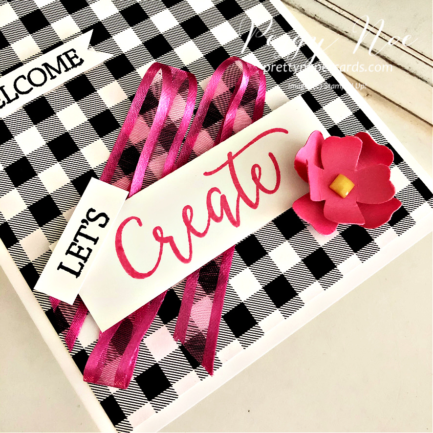 Let\'s Create Together Welcome Card!