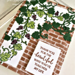 Handmade card using the Forever Grapevine Bundle by Stampin