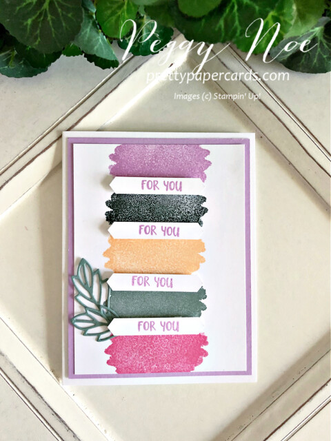 Stampin' Up! 2021-2023 In Colors Peggy Noe prettypapercards #2021-2023InColors #stampinup #stampingup #peggynoe #prettypapercards #freshfreesia #polishedpink #tag #foryoucard #thankyoutags #thankyou #prettypapercards.com