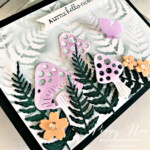 Handmade Fairy Garden Card created with the Iconic Dies by Stampin