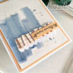 Handmade card using the Stampin