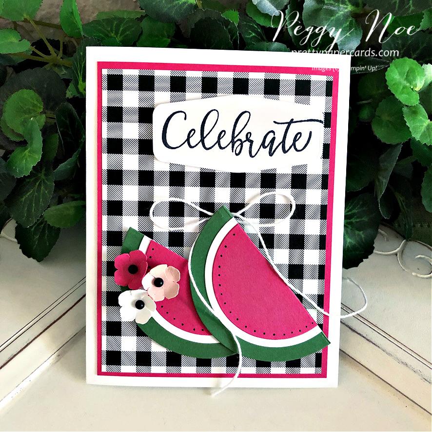 VIDEO: Make a Fun Watermelon Card!