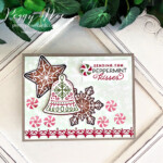Handmade Christmas card using the Gingerbread & Peppermint Suite by Stampin