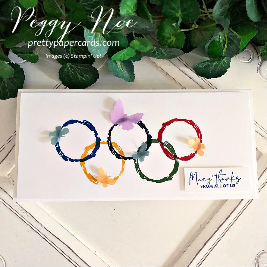 Sneak Peek: Olympic Thank You Card!