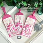 Handmade tag/bookmark created with Quiet Meadow Bundle by Stampin