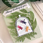 Handmade thinking of you card using the Very Versailles stamp set by Stampin