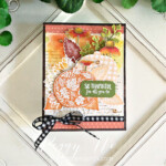 Handmade Fall Card made with the Pretty Pumpkins Bundle by Stampin