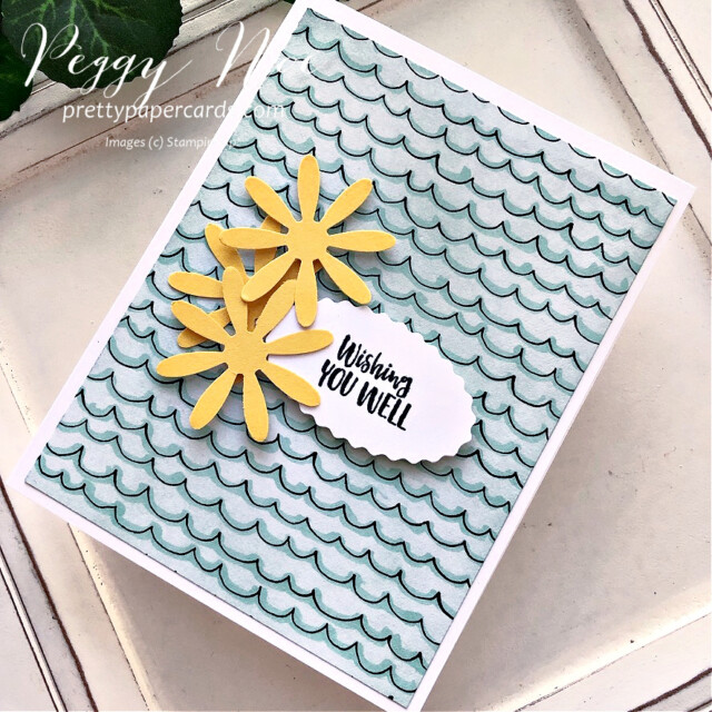 Thankful card made with Season's Blessings Bundle by Stampin' Up! created by Peggy Noe of Pretty Paper Cards #seasonsblessings #stampinup #stampingup #peggynoe #prettypapercards #sothankful #beautifullypenned