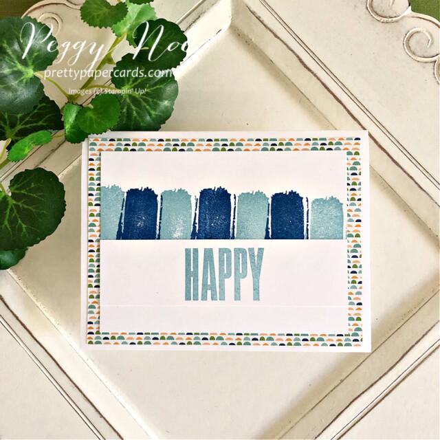 Happy Textures & Frames Stampin' Up! Peggy Noe #textures&frames #happycard #peggynoe #prettypapercards #stampinup #stampingup #christmascheerdies #textures&framesstampset #halloweencard #patternparty