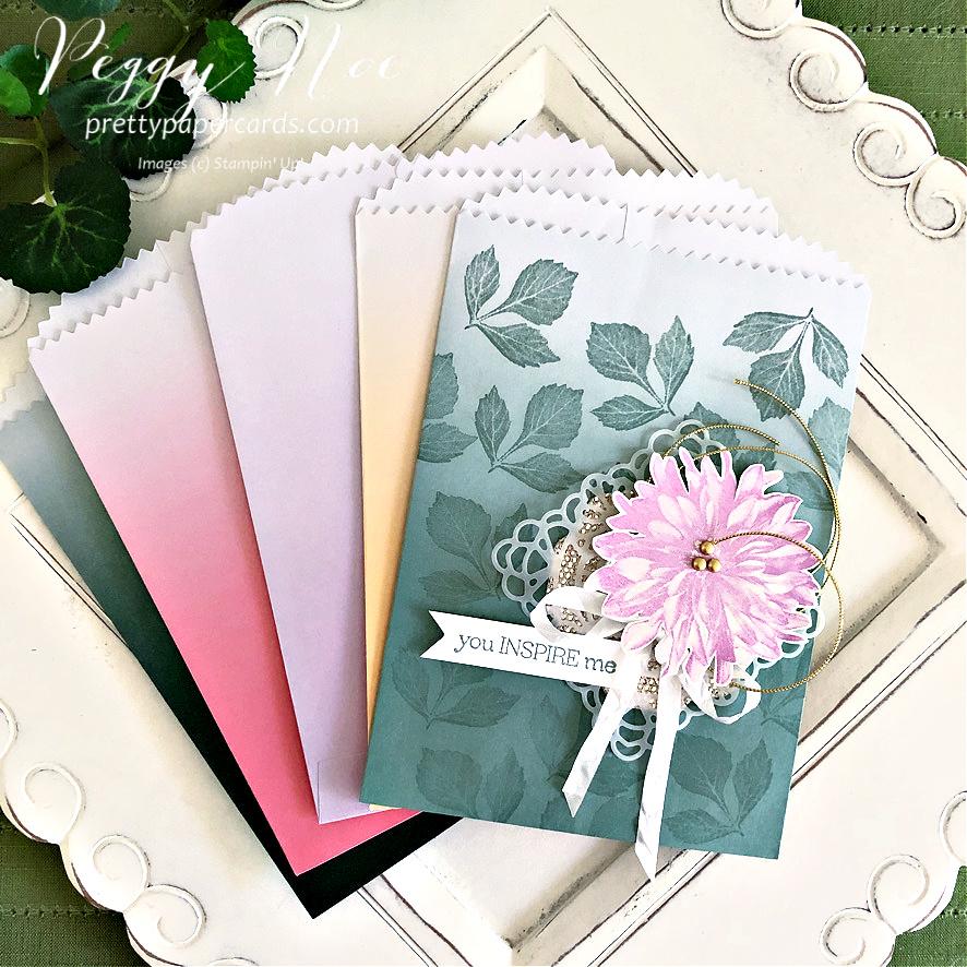 Beautiful Delicate Dahlias Gift Bags!