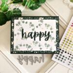 Happy Textures & Frames Stampin