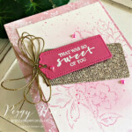 Handmade Card using the Hand Penned and Sweet Strawberry stamp sets by Stampin